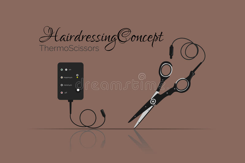 Coupe de cheveux innovatrice images stock