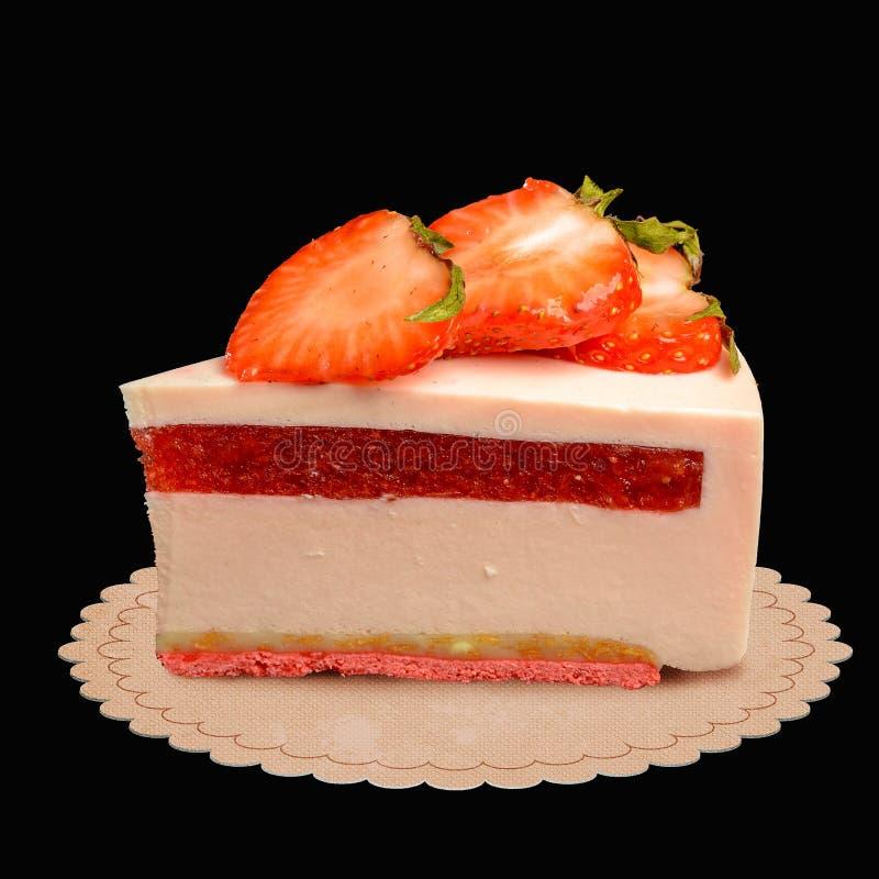 Coupe de dessert lumineux photo stock