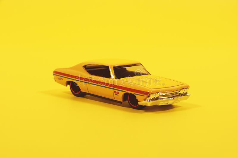 Coupe Die-cast Model royalty free stock photos