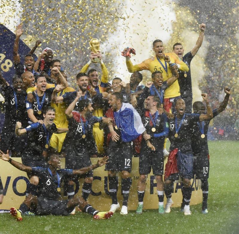 Coupe du monde 2018 photos stock