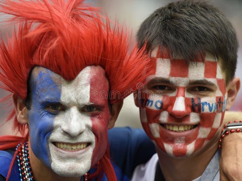 Coupe du monde 2018 photo libre de droits