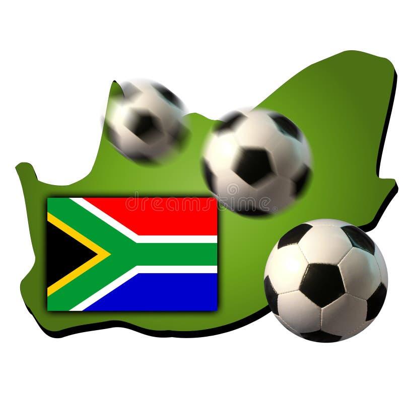 Coupe du monde 2010 illustration libre de droits