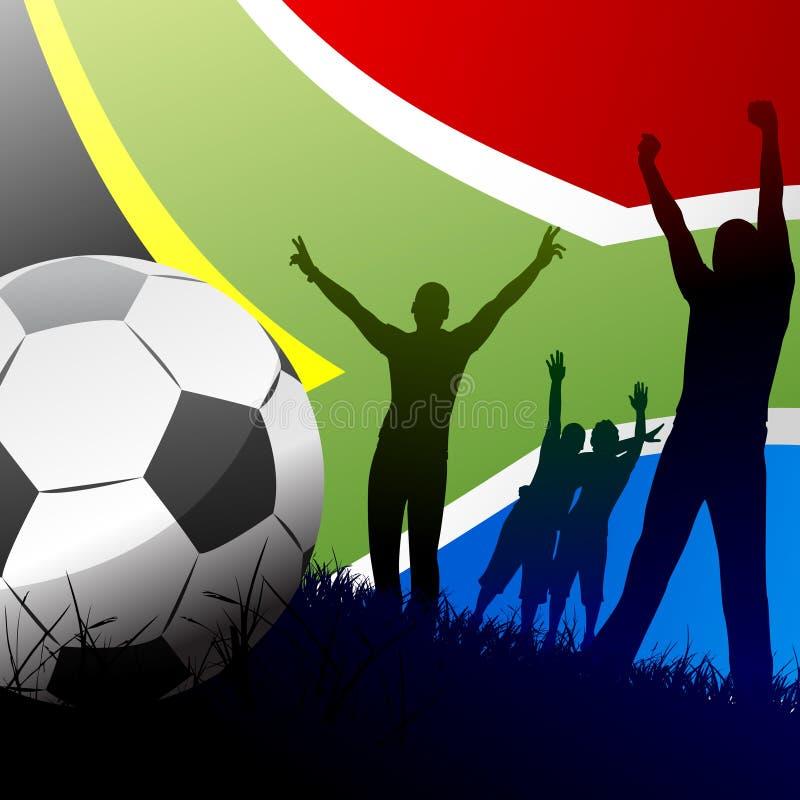 Coupe du monde Afrique du Sud illustration stock
