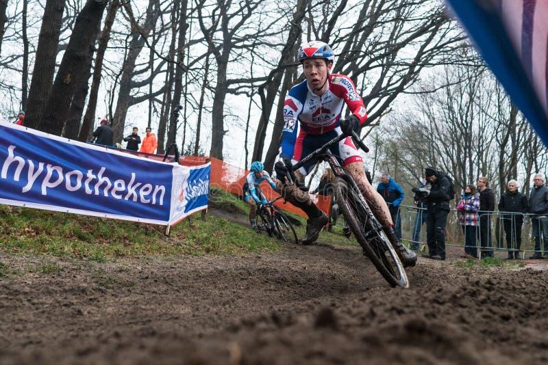 Coupe du monde d'UCI Cyclocross - Hoogerheide, Pays-Bas images libres de droits
