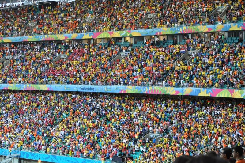 Coupe du monde de Fifa 2014 images libres de droits