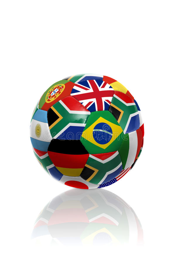 Coupe du monde de l'Afrique du Sud images libres de droits