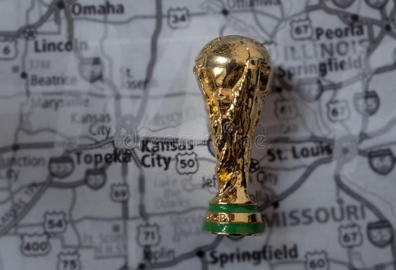 Coupe du monde de la FIFA images stock
