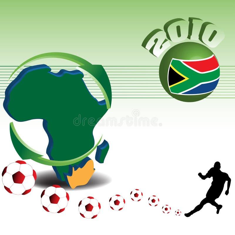 Coupe du monde du football illustration libre de droits