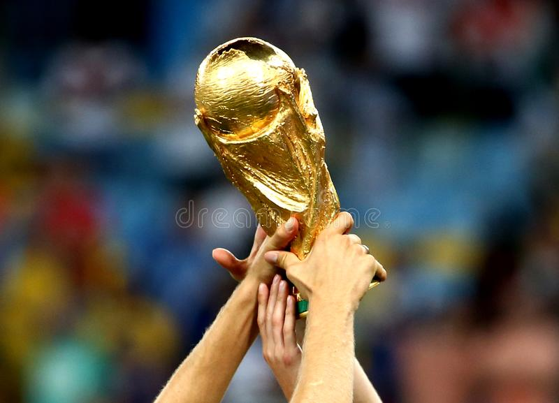 Coupe du monde du football photo libre de droits