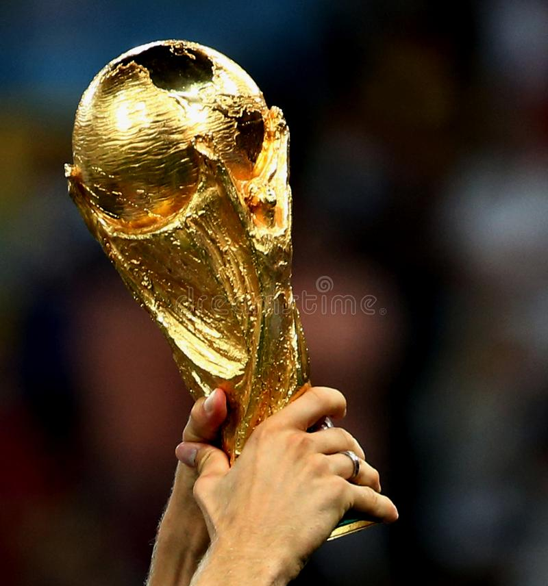 Coupe du monde du football photographie stock libre de droits