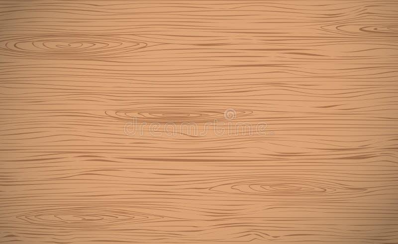 Coupe en bois de Brown, hachoir, table ou surface de plancher Texture en bois illustration libre de droits