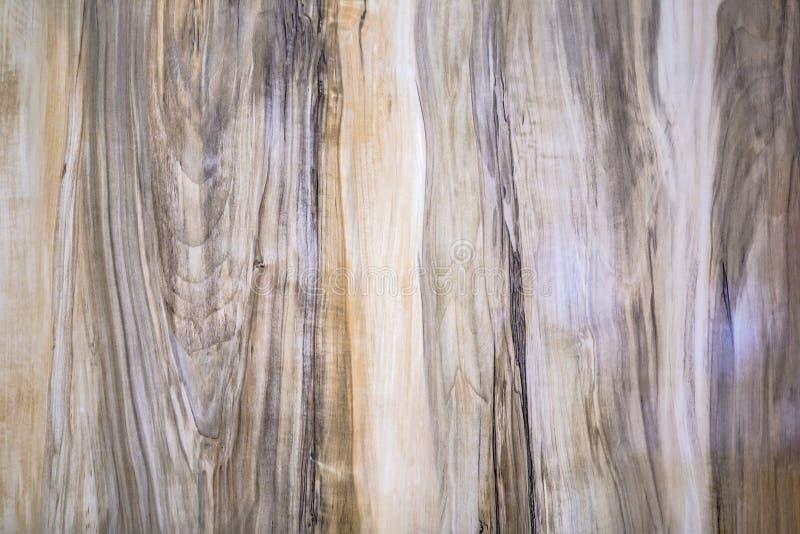 Coupe en bois naturelle Texture en bois, texture brillante de la table image stock