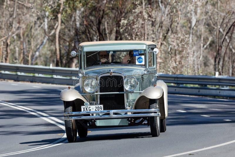 Coupe 1929 Nash стоковое фото rf
