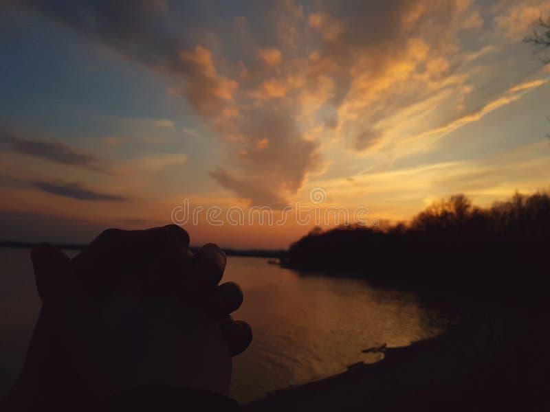 Coupe ręka fotografia stock