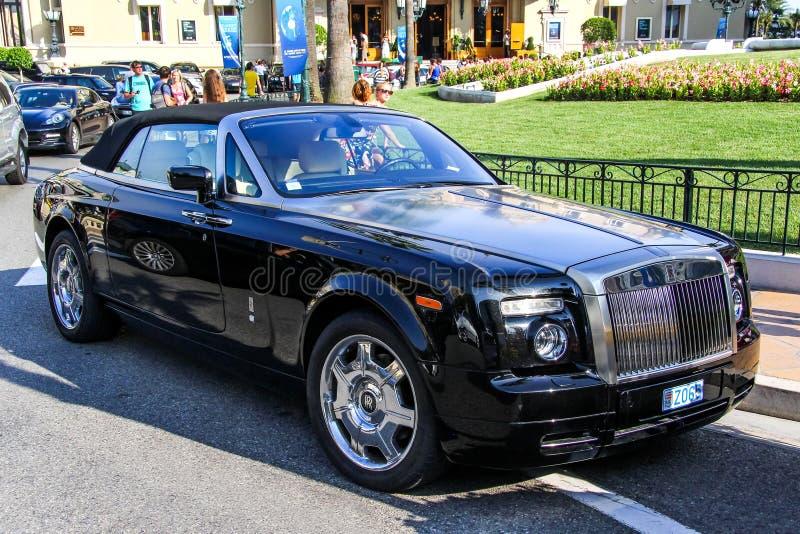 coupedropheadfantom Rolls Royce arkivfoto