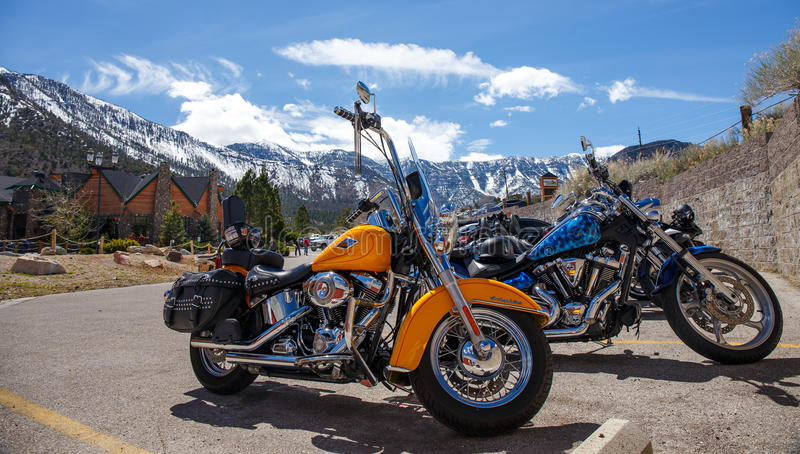 Couperet de Harley Davidson photos stock