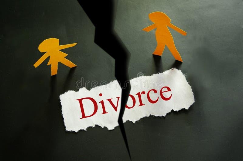 Coupes-circuit de divorce photos stock