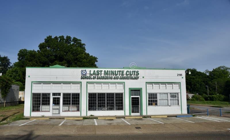 Coupes de dernière minute, Memphis, TN photographie stock libre de droits