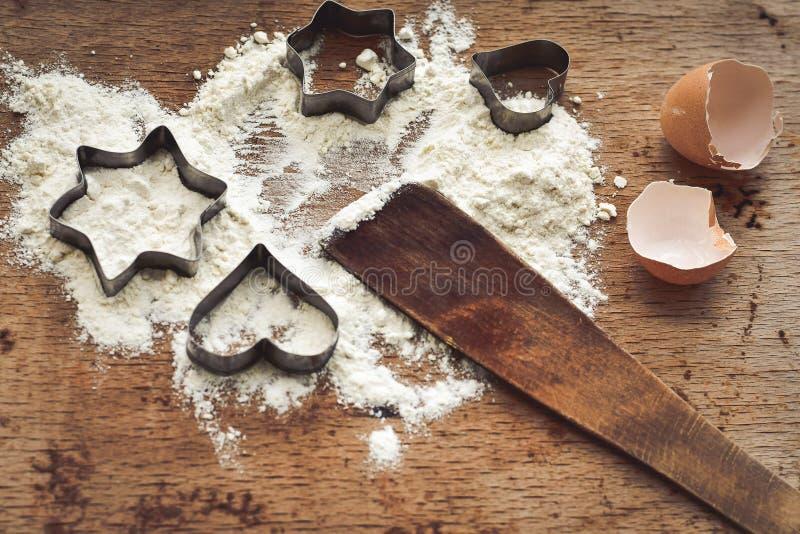 Coupeur de biscuit image libre de droits