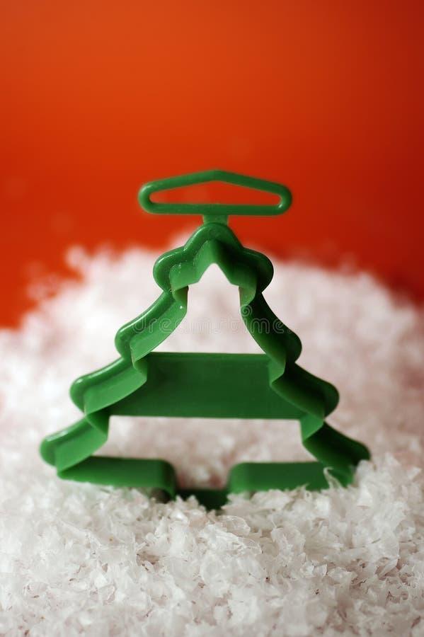 Coupeur de biscuit - arbre photo stock