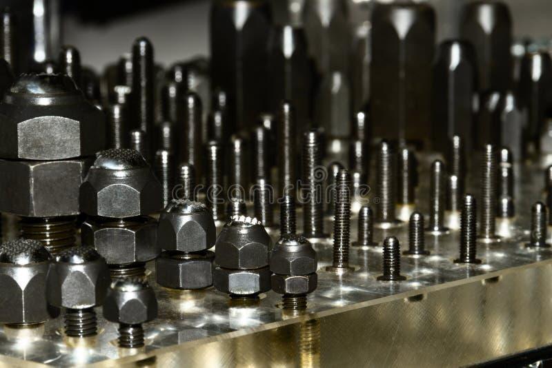 Coupeur de foret en métal pour la fabrication image stock