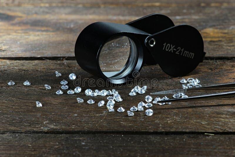 Coupez les diamants 03 images libres de droits