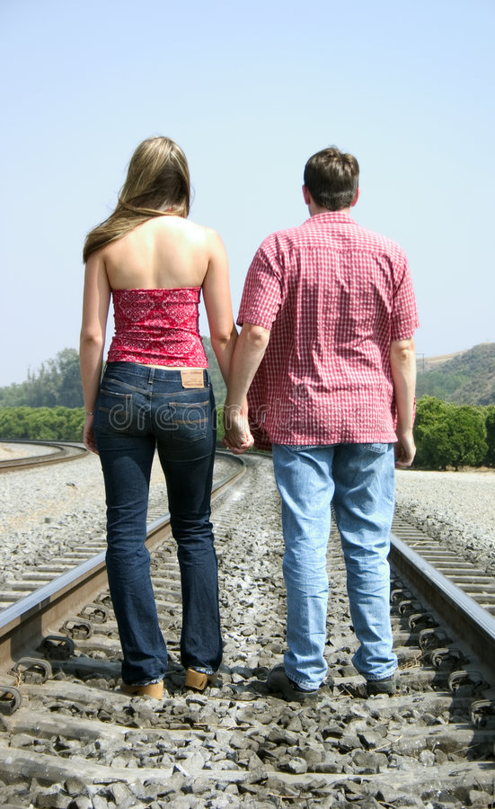 Download Couple stock photo. Image of walk, track, women, teens, teenager - 6666