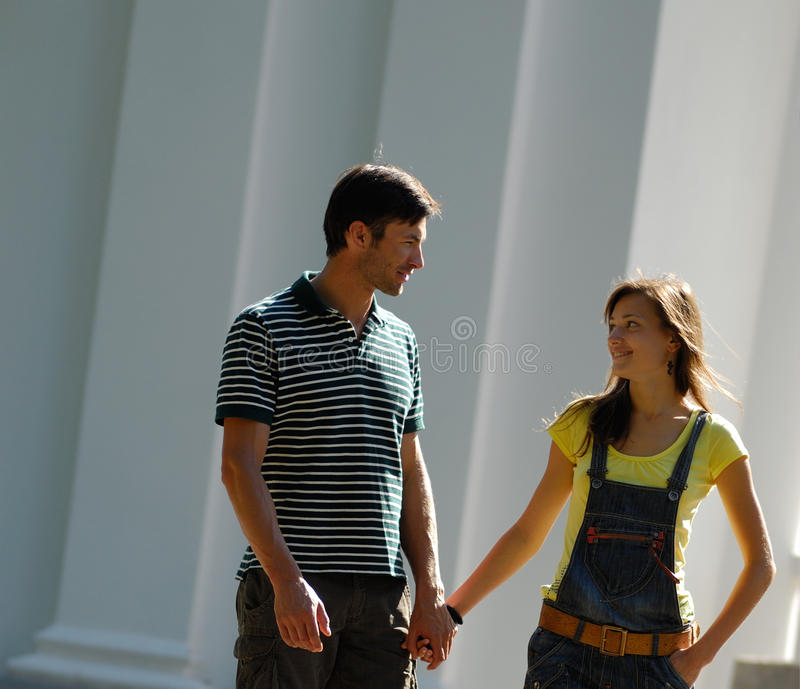Download Couple stock image. Image of looking, smile, happy, cheerful - 10660601