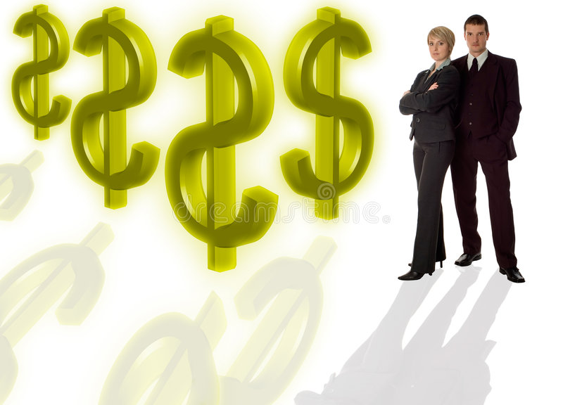 Download Couple stock photo. Image of finance, couple, adults, suit - 2039130