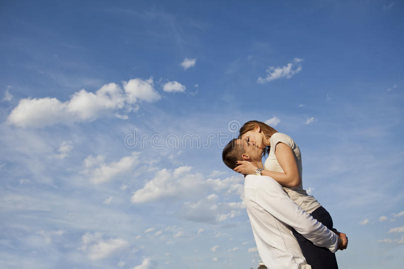 Download Couple stock photo. Image of romantic, space, holding - 24752554