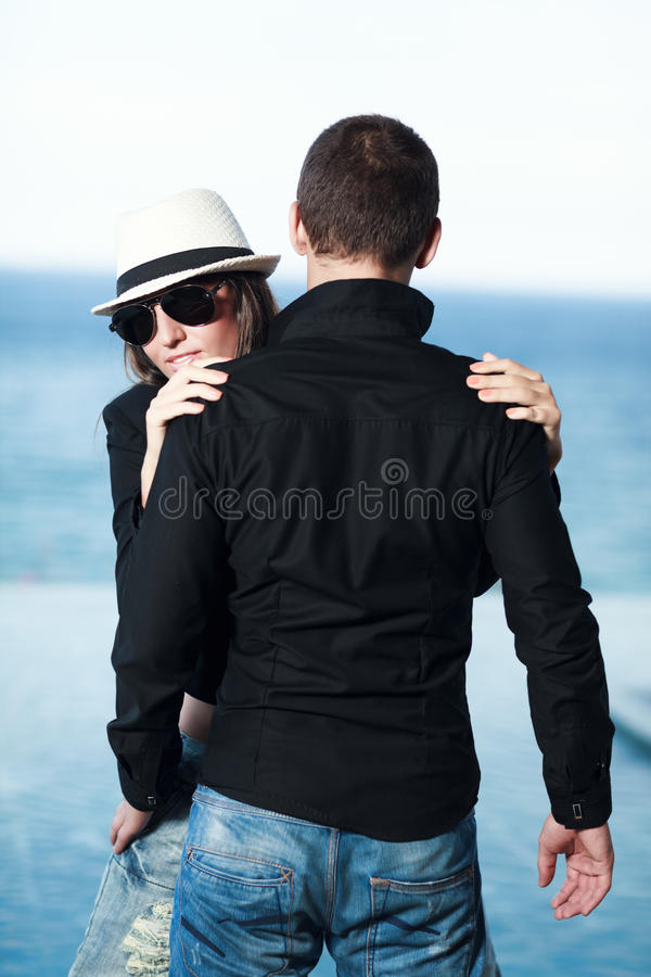 Couple royalty free stock photos