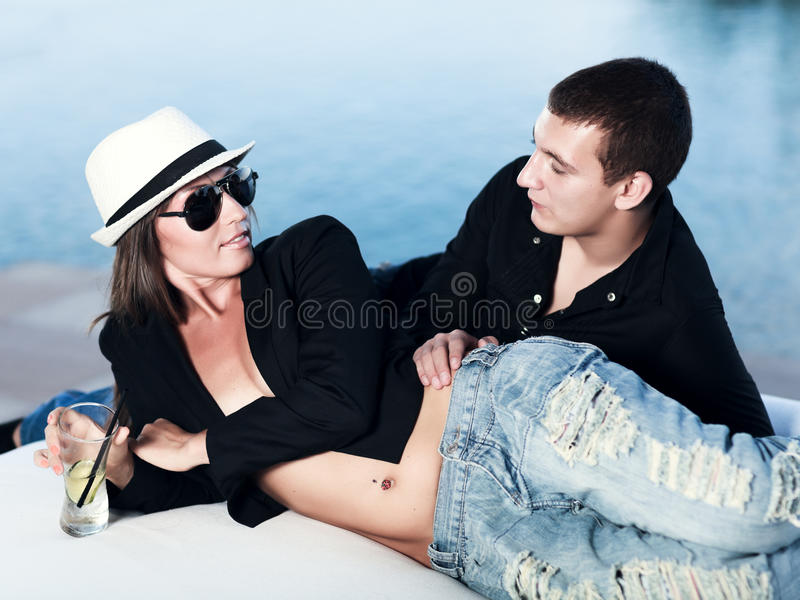 Couple royalty free stock image