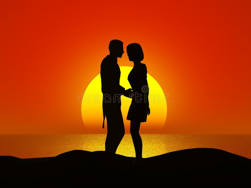 Download Couple stock illustration. Image of beauty, happy, embrace - 2603256