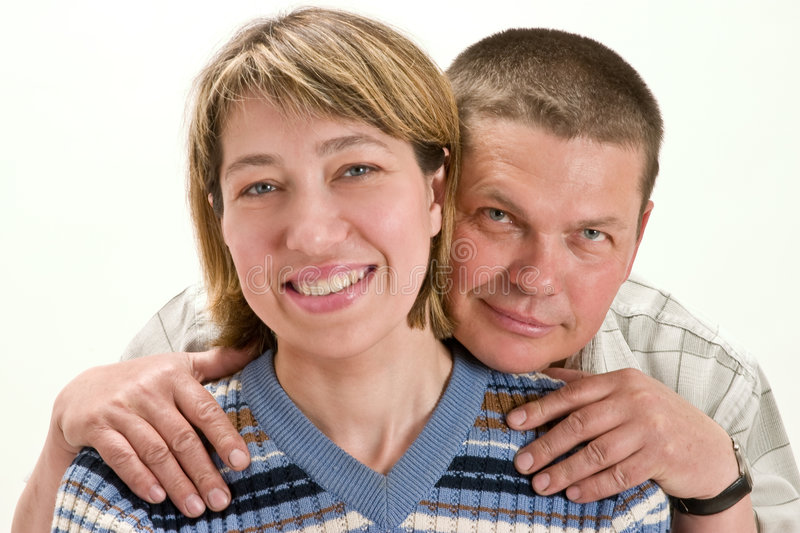 Couple. Shot of a happy adult couple stock image