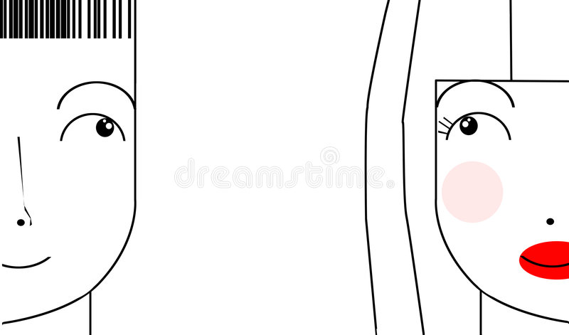 Download Couple? stock illustration. Illustration of profile, holiday - 4044591