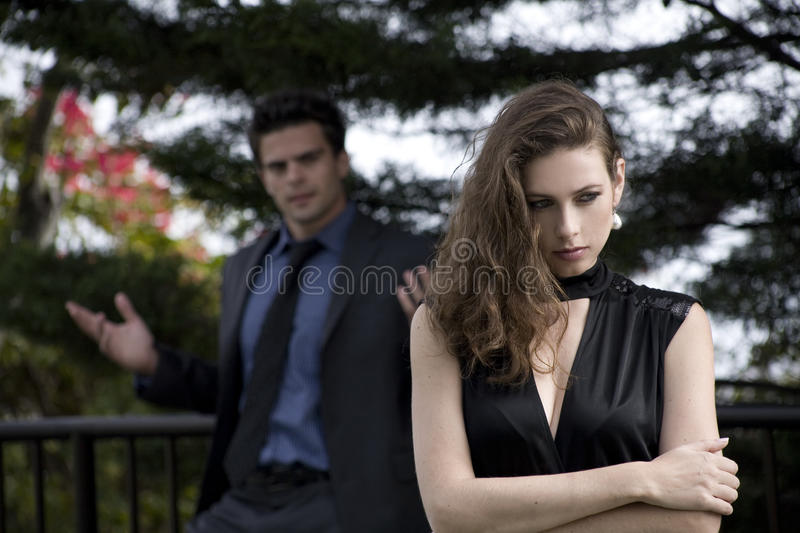 Download Couple Arguing Stock Image - Image: 22868431