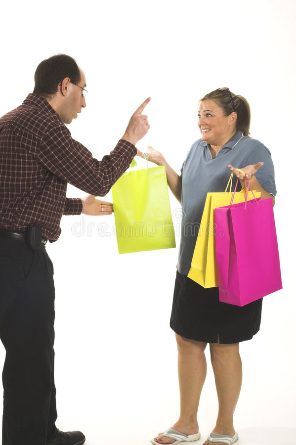 Download Couple arguing about money stock photo. Image of carrying - 861144
