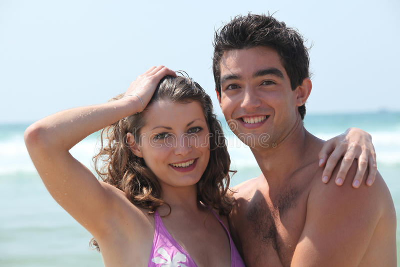 Download Couple At The Beach Stock Photos - Image: 27912183