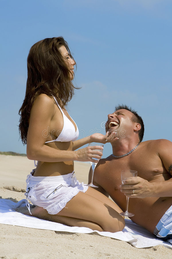 Download Couple On A Beach Stock Image - Image: 2907961