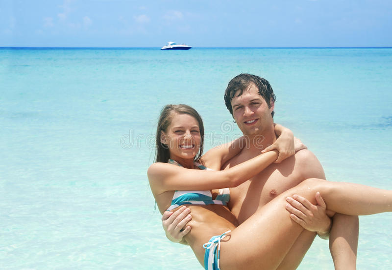 Couple on Beach Vacation