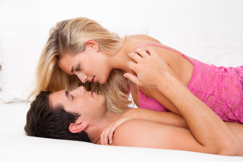 Download Couple In Bed With Sex And Affection Stock Photo - Image: 18017168