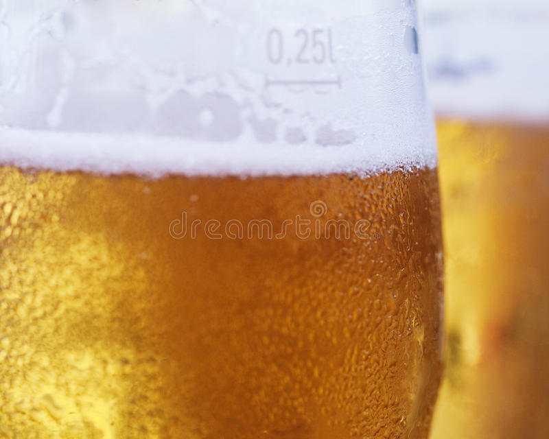 Couple of beers royalty free stock image