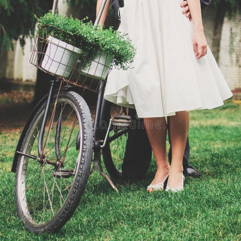 Couple With Bike Free Public Domain Cc0 Image