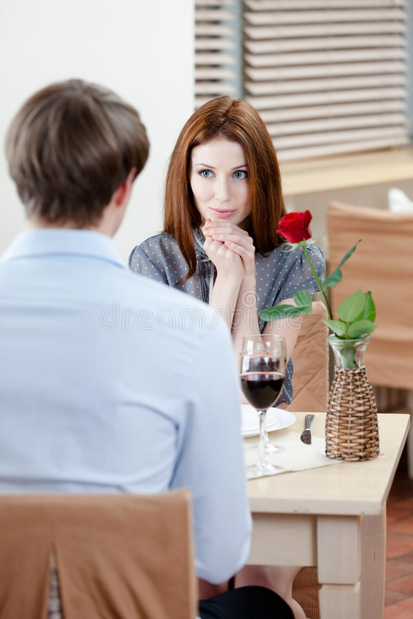 Download Couple is at the cafeteria stock image. Image of enjoy - 28592985