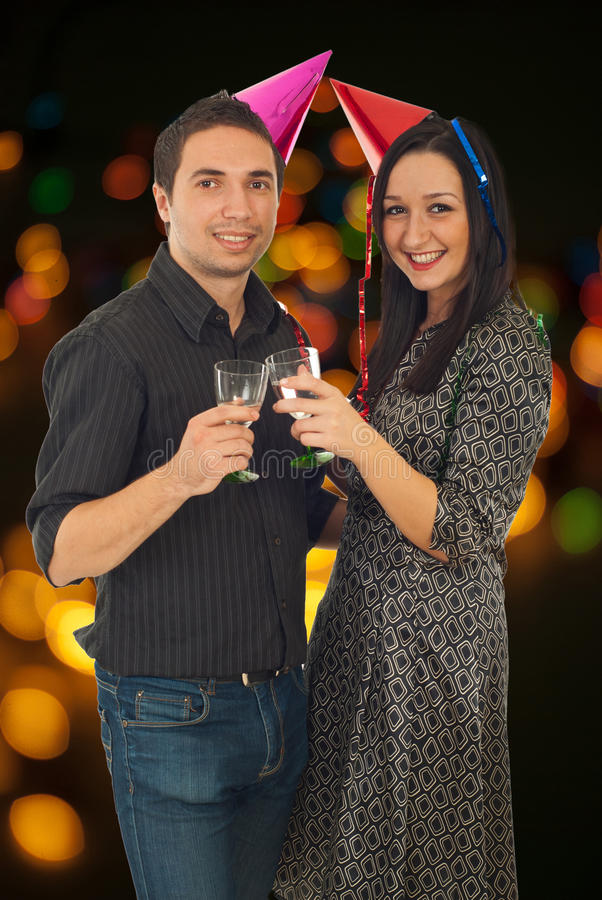 Couple celebrate New Year