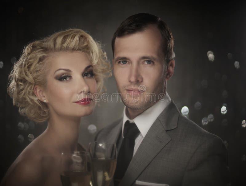 Download Couple Celebrating Royalty Free Stock Image - Image: 27591996