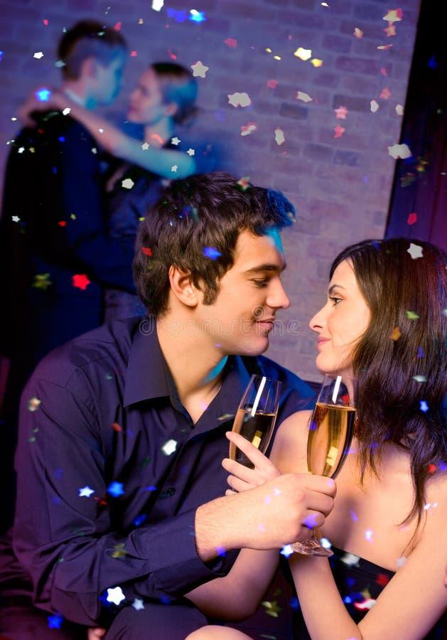 Download Couple at celebration stock image. Image of flirt, celebration - 3647151