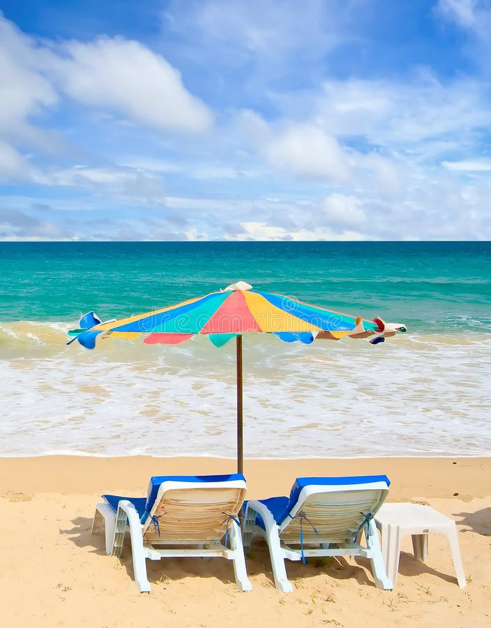 couple chair on the beach stock photo. image of miracle - 14735274