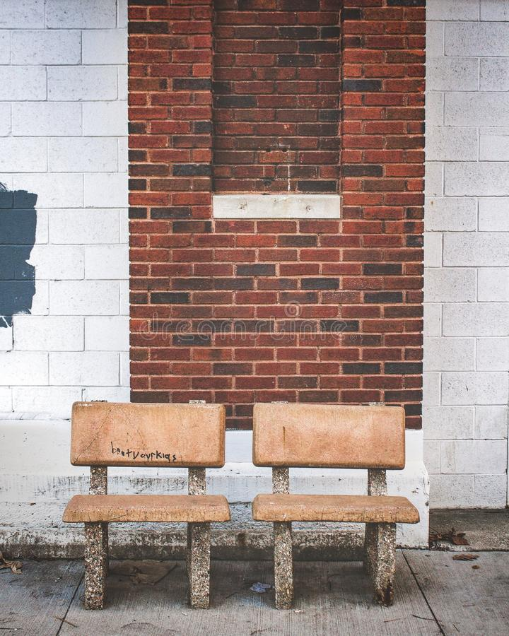 Couple of chairs royalty free stock images