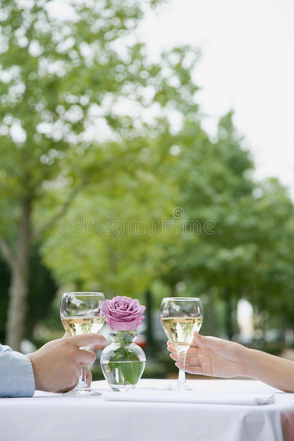 Download Couple With Champagne stock photo. Image of male, celebrating - 12035556